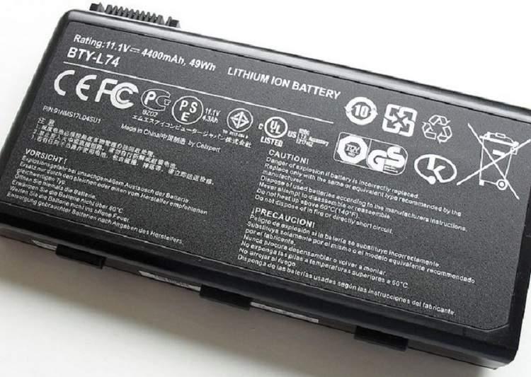 Baterai Lithium-ion