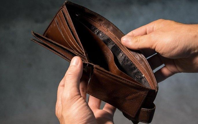 dompet kosong
