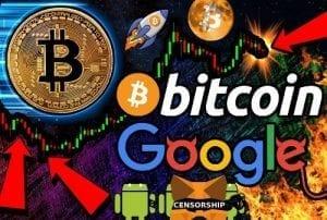 Google menyensor kripto