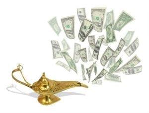 mitos tentang uang