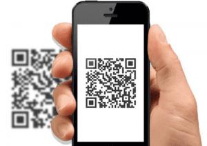 transaksi menggunakan QR code