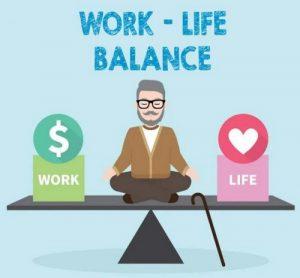 keseimbangan pekerjaan dan kehidupan pribadi